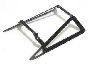 B200SR08B Xtreme carbon Fiber Landing Skid (economic version) - B200SRX