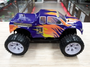 HSP Brontosaurus Monster Truck 2,4GHz RTR - kolor fioletowy