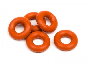 6819 - SILICONE O-RING P-3 (RED/5pcs)