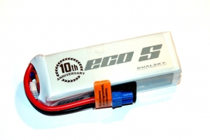 Pakiet LiPO Dualsky 2700mAh 11.1V 25/4C Eco S - idealny do quadro DJI Phantom