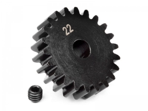 100921 - PINION GEAR 22 TOOTH (1M / 5mm SHAFT)