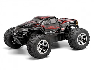 HPI - 105274 - GT-2XS PAINTED BODY (RED/BLACK/GREY)