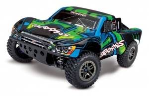 Traxxas Slash Ultimate RTR z mod. BT Zielony