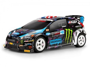 116432 - KEN BLOCK 2015 FORD FIESTA PAINTED BODY (WR8 FLUX)