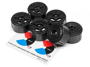 HPI 114372 - fifteen52 TURBOMAC WHEEL BLACK (6PCS)