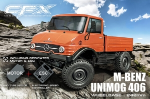 MST CFX 1/10 4WD EP Off-road Car KIT Mercedes-Benz Unimog 406 body (w/ESC&motor) (532155)