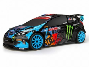 113080 - FORD FIESTA KEN BLOCK BODY PAINTED (140MM)