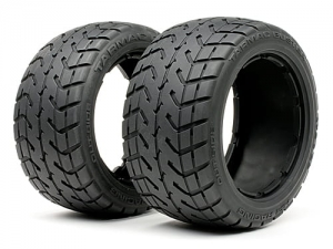 HPI 4840 - TARMAC BUSTER TIRE M COMPOUND (170x80mm/2pcs)