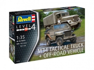 M34 Tactical Truck + Off-Road Vehicle  (REV-03260)