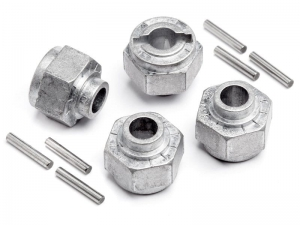 105629 - HEX WHEEL HUB 12mm (4pcs)