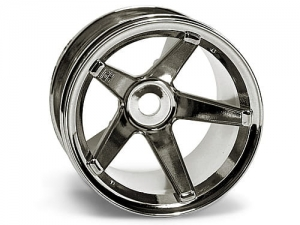2161 - SUPER STAR MT WHEELS (BLACK CHROME/DEEP OFFSET/2pcs)