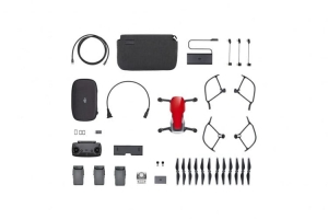 DJI Mavic Air Flame Red - Fly More Combo
