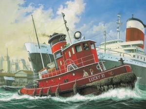 Harbour Tug Boat (REV-05207)