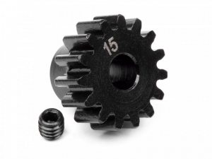 100914 - PINION GEAR 15 TOOTH (1M / 5mm SHAFT)
