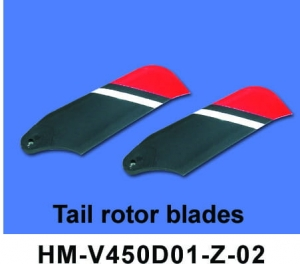 HM-V450D01-02  TAIL ROTOR BLADES