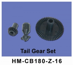 HM-CB180-Z-16 tail gear set