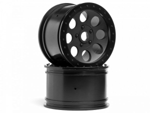 3186 - MAG-8 WHEEL BLACK (83X56mm/2pcs)