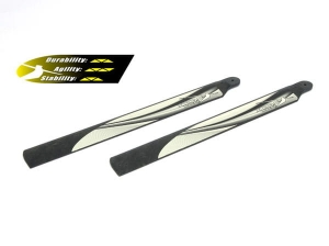 B200SR04B8 Carbon Polymer Main Blade (8 Degree, 1 pair) - 200SRX