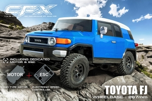 MST CFX 1/10 4WD High Performance Off-Road Car KIT (w/ESC&motor, TOYOTA FJ) (532157)