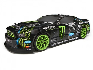 113085 - 2013 FORD MUSTANG VAUGHN/MONSTER/NITTO PAINTED BODY (200MM)