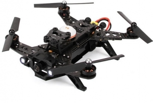 Quadrokopter Walkera Runner 250 RTF - quadro, aparatura Devo7, TX video, iOSD, Lipo, kamerka