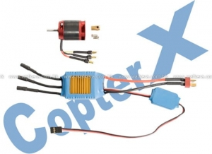 CX450-10-06 Brushless Motor & 50A Brushless ESC
