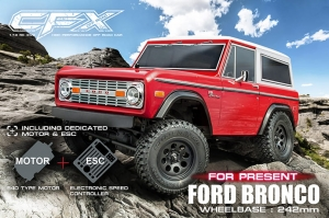 MST CFX 1/10 4WD EP Off-road Car KIT Ford Bronco body (w/ESC&motor) (532151)
