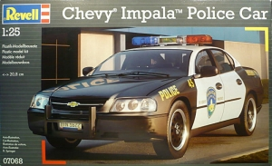 CHEVY IMPALA POLICE CAR '05 (REV-07068)
