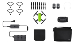 DJI SPARK Meadow Green RTF - Fly More Combo