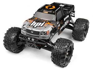 HPI - 109883 - NITRO GT-3 TRUCK PAINTED BODY (SILVER/BLACK)