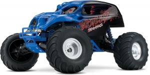 Traxxas Monster Truck 1/10 Skully 2WD XL-5 RTR - niebieski